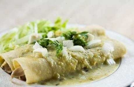 Chicken enchiladas verdes | Recipes | Pinterest