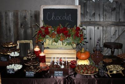Heavenly Blooms: Chocolate and Wine Soiree Part III - Rustic Farm or Ranch Wedding Decor
