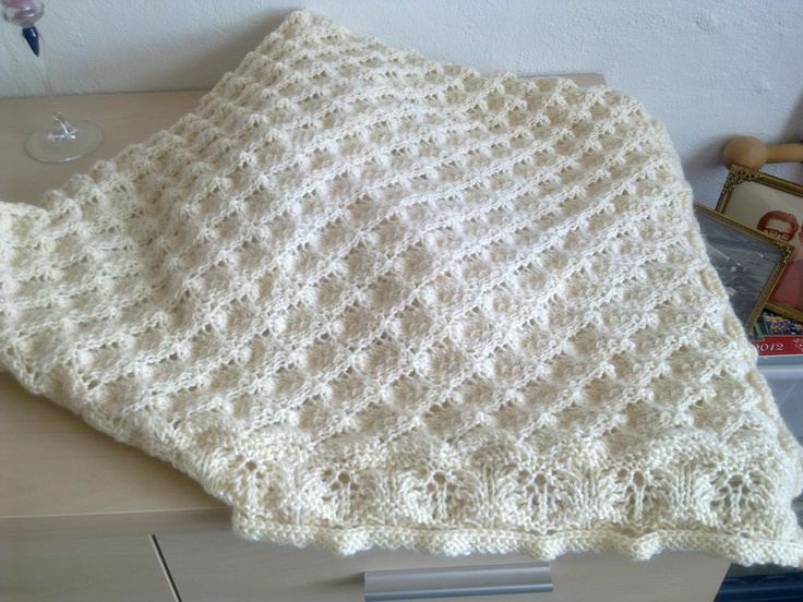 strikket bolero gratis opskrift
