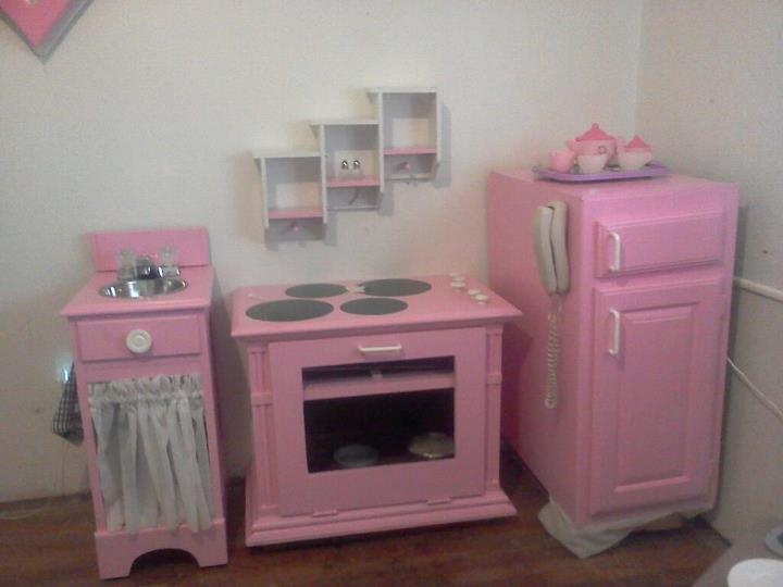 Homemade Play Kitchen DIY Play Kitchens Pinterest