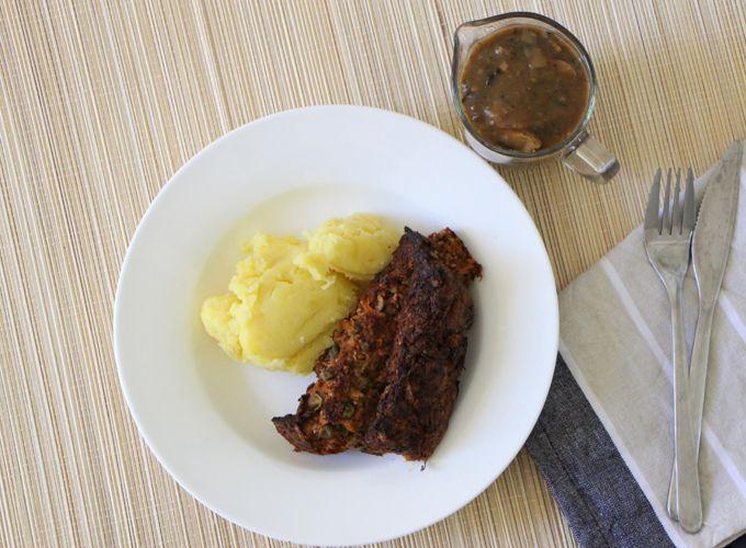 Ultimate Vegan Lentil Walnut Loaf Recipe — Dishmaps
