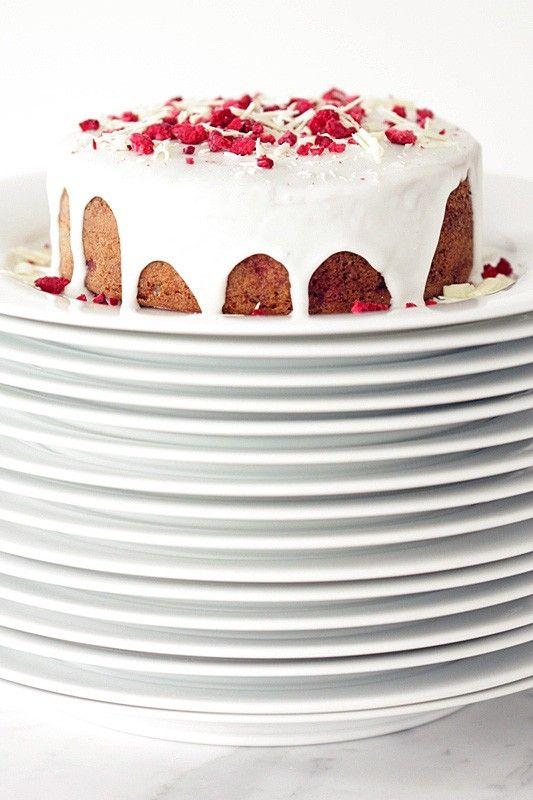 Raspberry + Almond Breakfast Cake | eats! | Pinterest