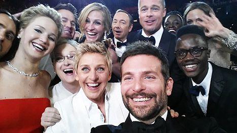 Academy Award winners and nominees take selfies just like US!