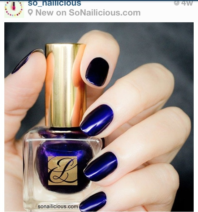 Nail designs found on Instagram