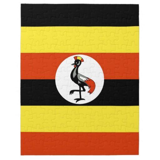 the uganda flag
