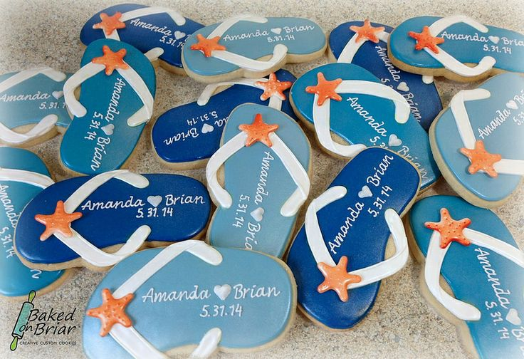 flip flop wedding favors weddings shower pinterest