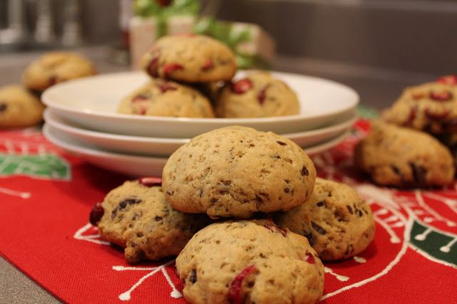 Cranberry Noel Cookies. Made with fresh cranberries!: Simply Whole ...