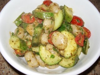 Gnocchi with Pesto and Summer Vegetables | Italian satisfaction | Pin ...