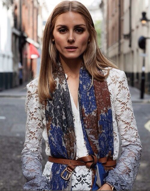 naimabarcelona:  Olivia Palermo, LFW SS 2015