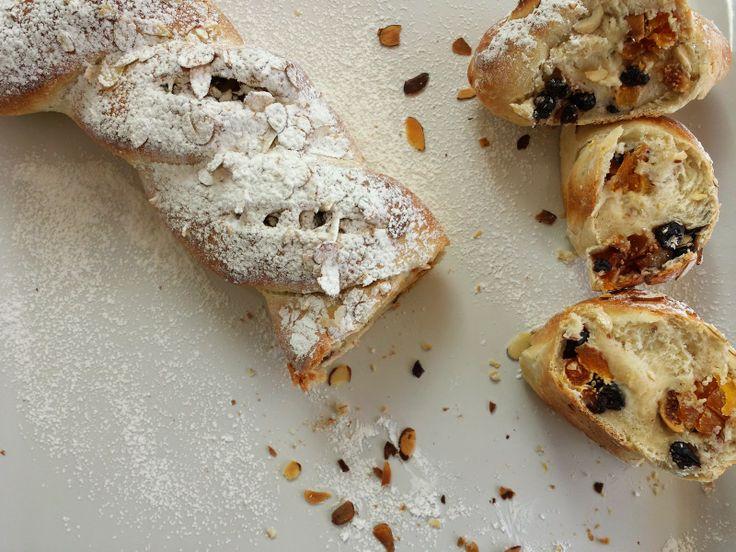 Dried Fruit Almond Twist