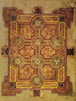 E Book Of Kells Book of Kells (7th Century, Celtic manuscript of the 4 New Testament ...