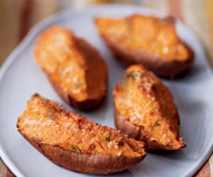 Twice Baked Sweet Potatoes With Ricotta Cheese Recipes — Dishmaps