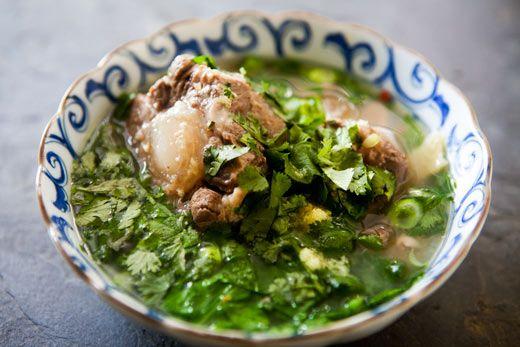 Hawaiian Oxtail Soup. (Simply Recipes)