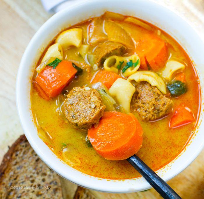 Amazing Chunky Carrot Soup | Souper Douper | Pinterest
