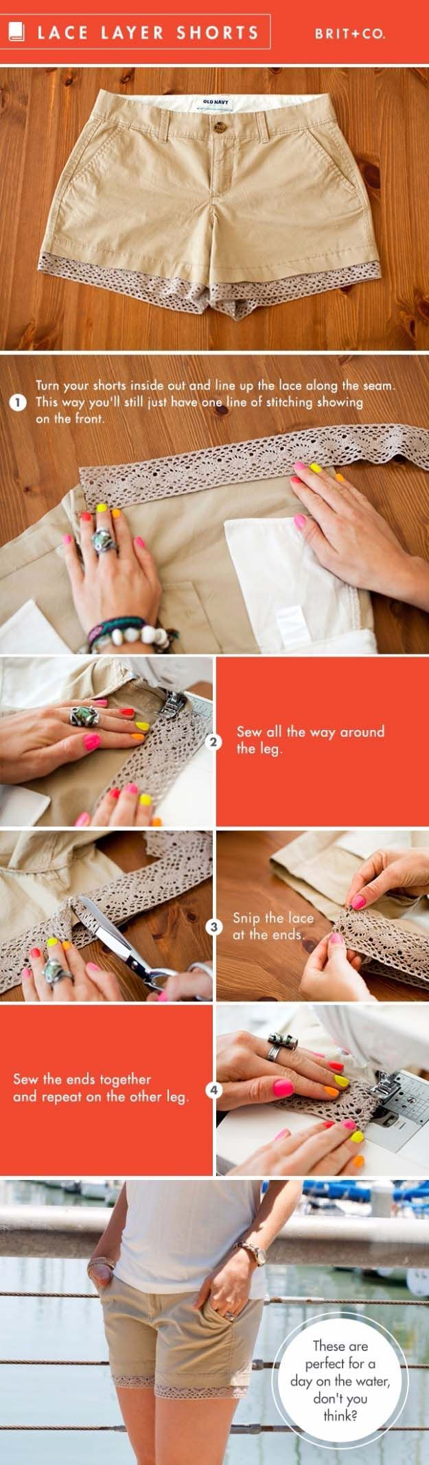 41 Awesomely Easy No-Sew DIY Clothing Hacks - BuzzFeed How to make diy fashion