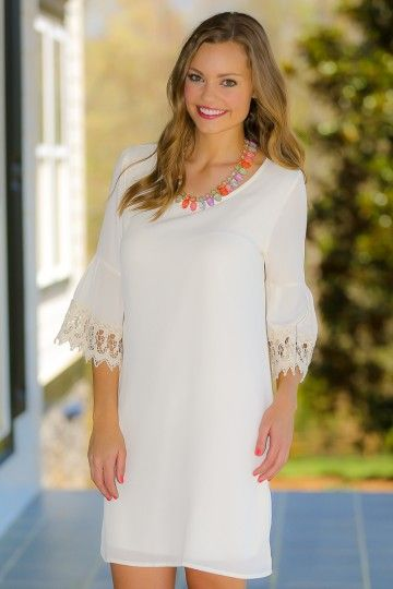 Best Case Scenario Dress-Ivory