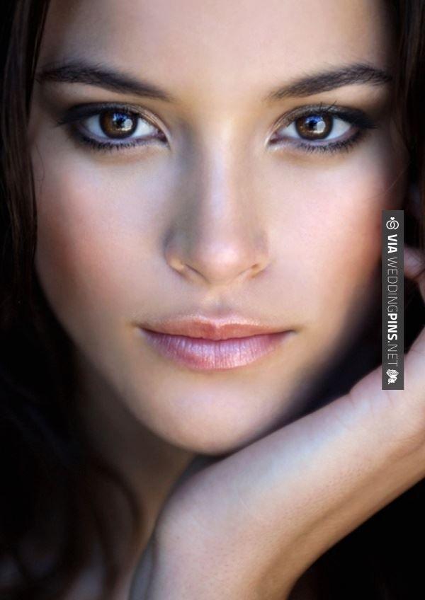 Wedding Makeup Dark Lips : Dark eyes, light lips Wedding Makeup and Hair Pinterest