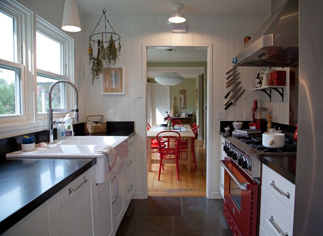 Perfect Red and Black Galley Kitchen 660 x 484 · 50 kB · jpeg