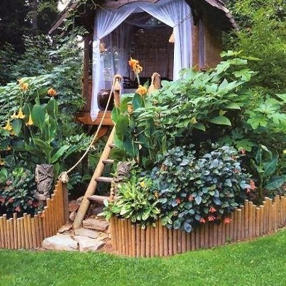 backyard escape cool decor ideas and household items pinterest