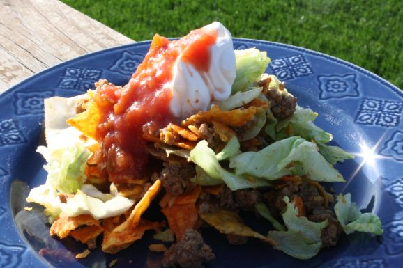 Walking Tacos | Recipes I'd like to try | Pinterest