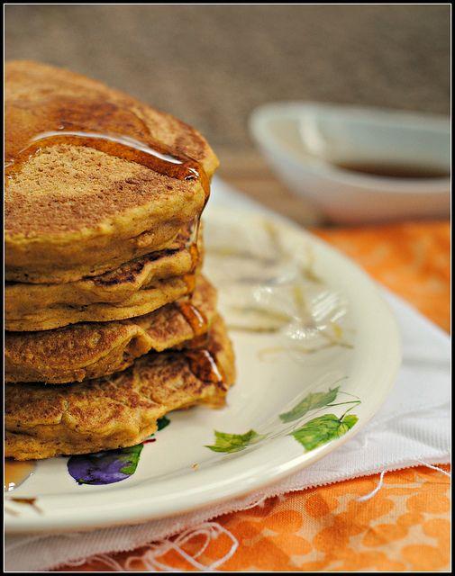 Whole Wheat Vegan Pumpkin Pie Pancakes   Breakfast   Pinterest
