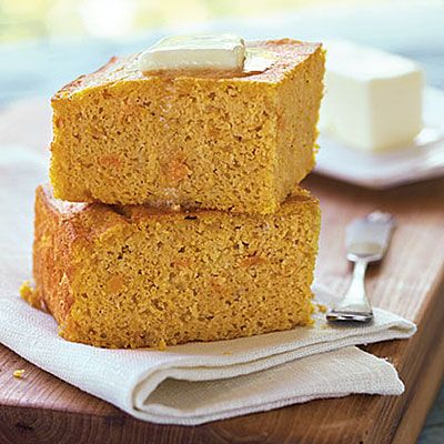 Sweet potato cornbread – Could it be any more Southern?