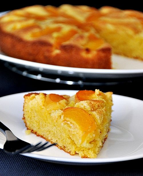 polenta cake recipe with bananas recipes dishmaps banana cake banana ...