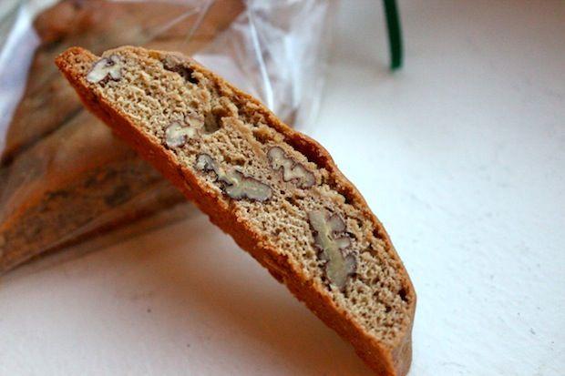 Pecan Pie Biscotti Increase original bake time by min of 10 min