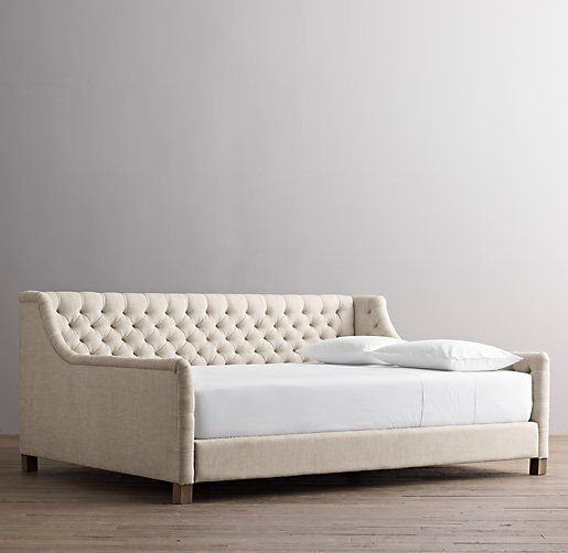 Daybed decor colors furniture pinterest for Queen daybed frame diy