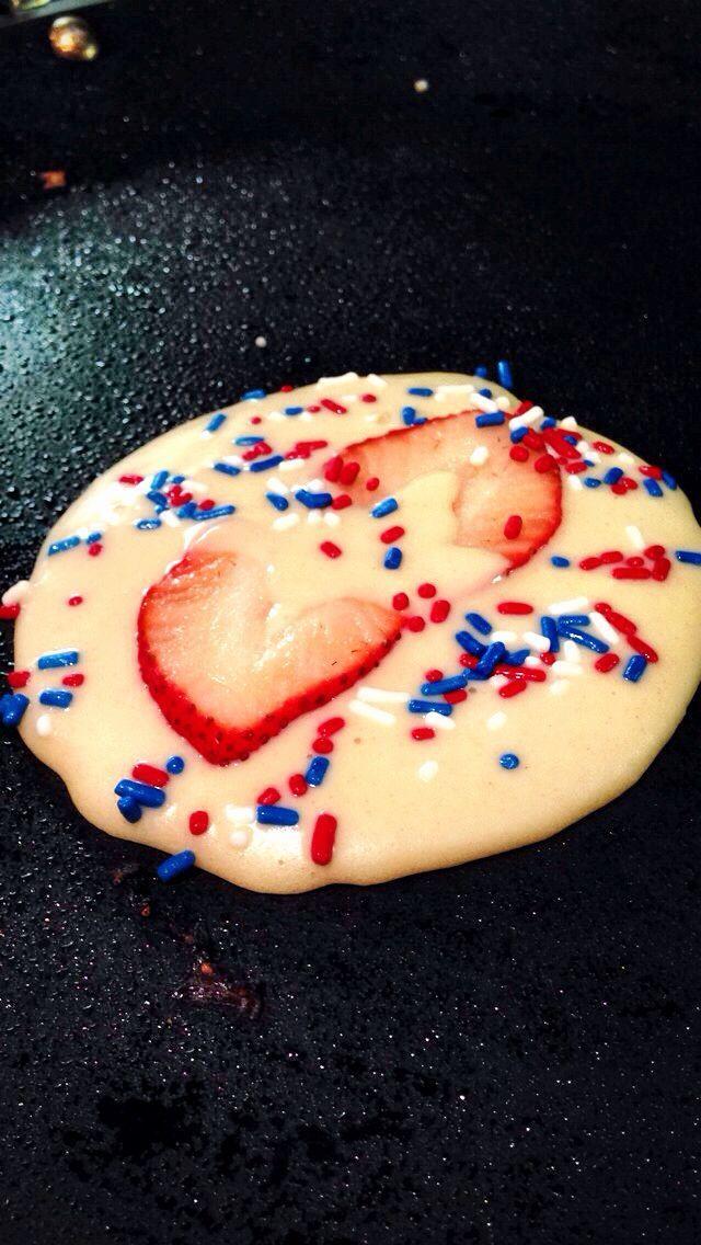 Vanilla Blueberry buckwheat pancakes (vegan/gluten free)