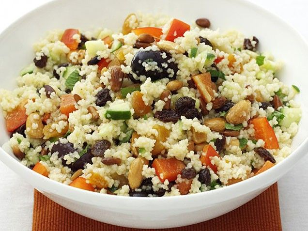 Couscous with Pine Nuts and Almonds. Make a big batch and eat it for # ...