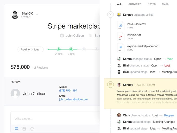 15 best UI: Activity Streams and Timelines images on Pinterest ...