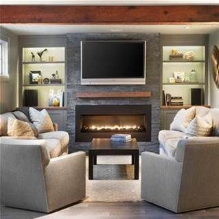TV Over Fireplace Ideas Bing Images Family Room
