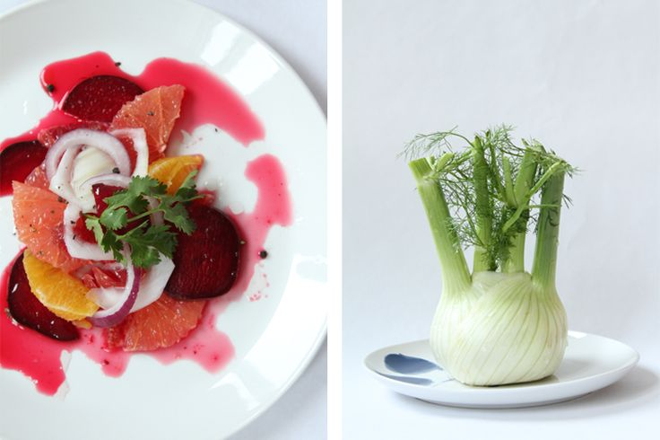 blood orange, beet, and fennel salad - a gorgeous opener for a dinner ...