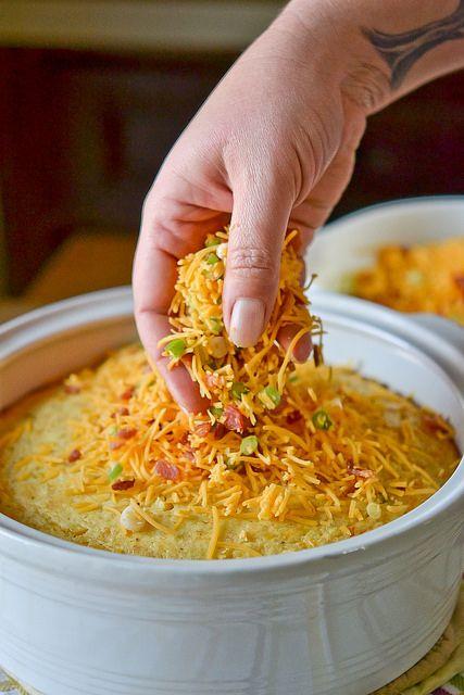 Cheddar And Green Chile Corn Pudding Recipes — Dishmaps
