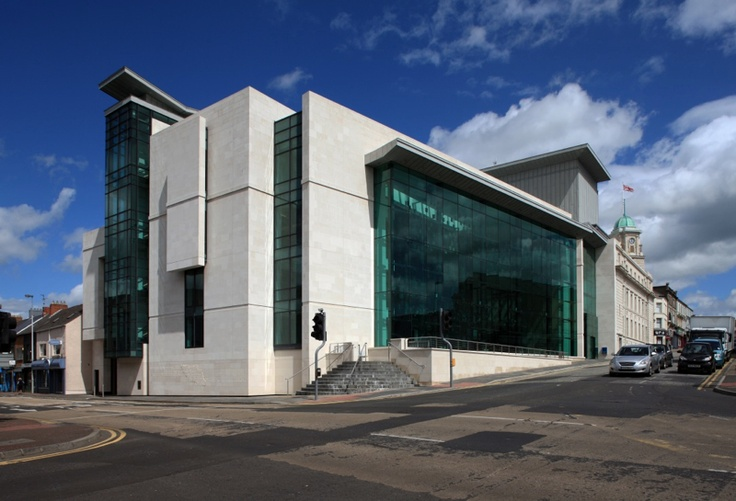 The- Braid Museum, Northern Ireland's new Museum and Arts Centre.