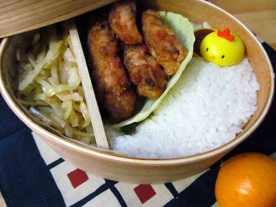 Bento: Chicken Karaage (Japanese fried Chicken)