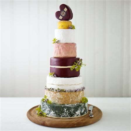 Godminster Cheese Wedding Cake