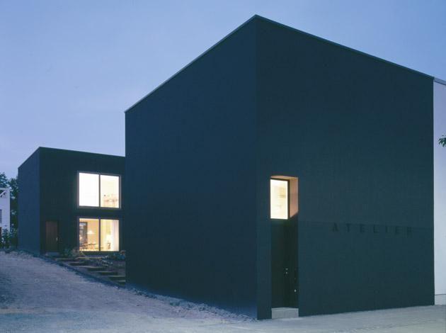 Haus hopp weimar max dudler architekt simple architecture pinte