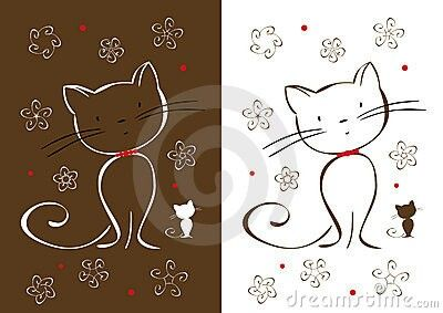 Pin by Belzinha Gomes on DRAWING OF KITTENS | Pinterest