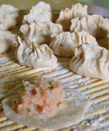Shrimp, Chilli and Chive Dumplings | Delicious | Pinterest