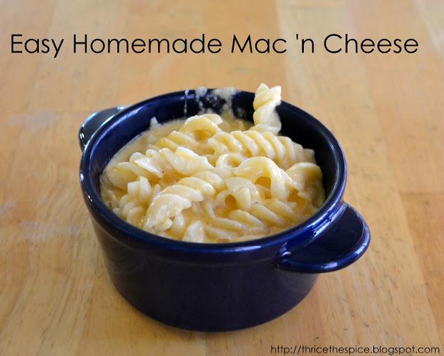 Easy Homemade Mac 'n Cheese | food. YUM! | Pinterest