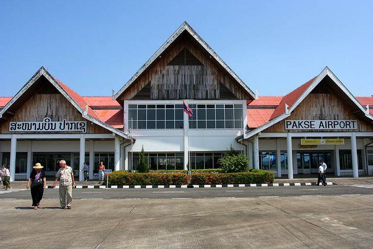 Sân bay quốc tế Pakse tại tỉnh Champasak thuộc Lào