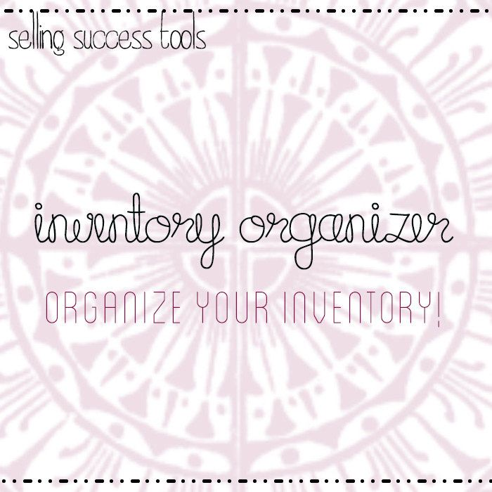Etsy Seller Tool Simple Inventory Organizer Tracker by NeoSuppli, $2