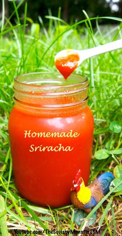 Homemade Sriracha | good to eat | Pinterest