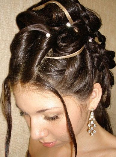 ... bridesmaids. Hairstyles for bridesmaids how to do it yourself