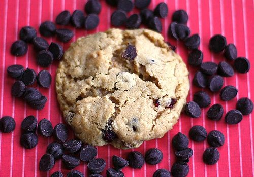 Dark Chocolate Cranberry Cookies | Recipe