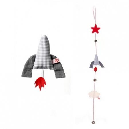 ... raket grijs  Webwinkel voor baby- en kinderkamer decoratie