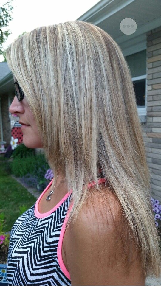 Hi and low lights hair | Hair creations | Pinterest