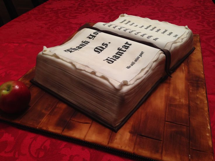 Open Book Cake Images : Open book cake Cakes Pinterest